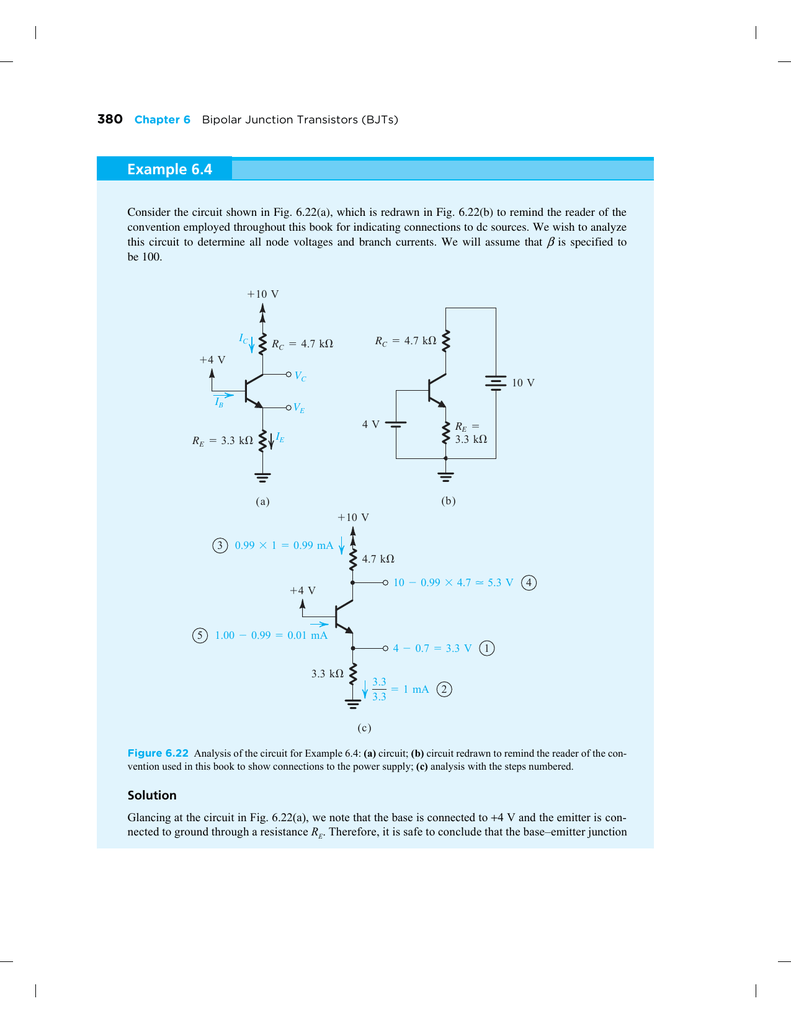 Transistor Problems Circuits Example Of Designing Suppose
