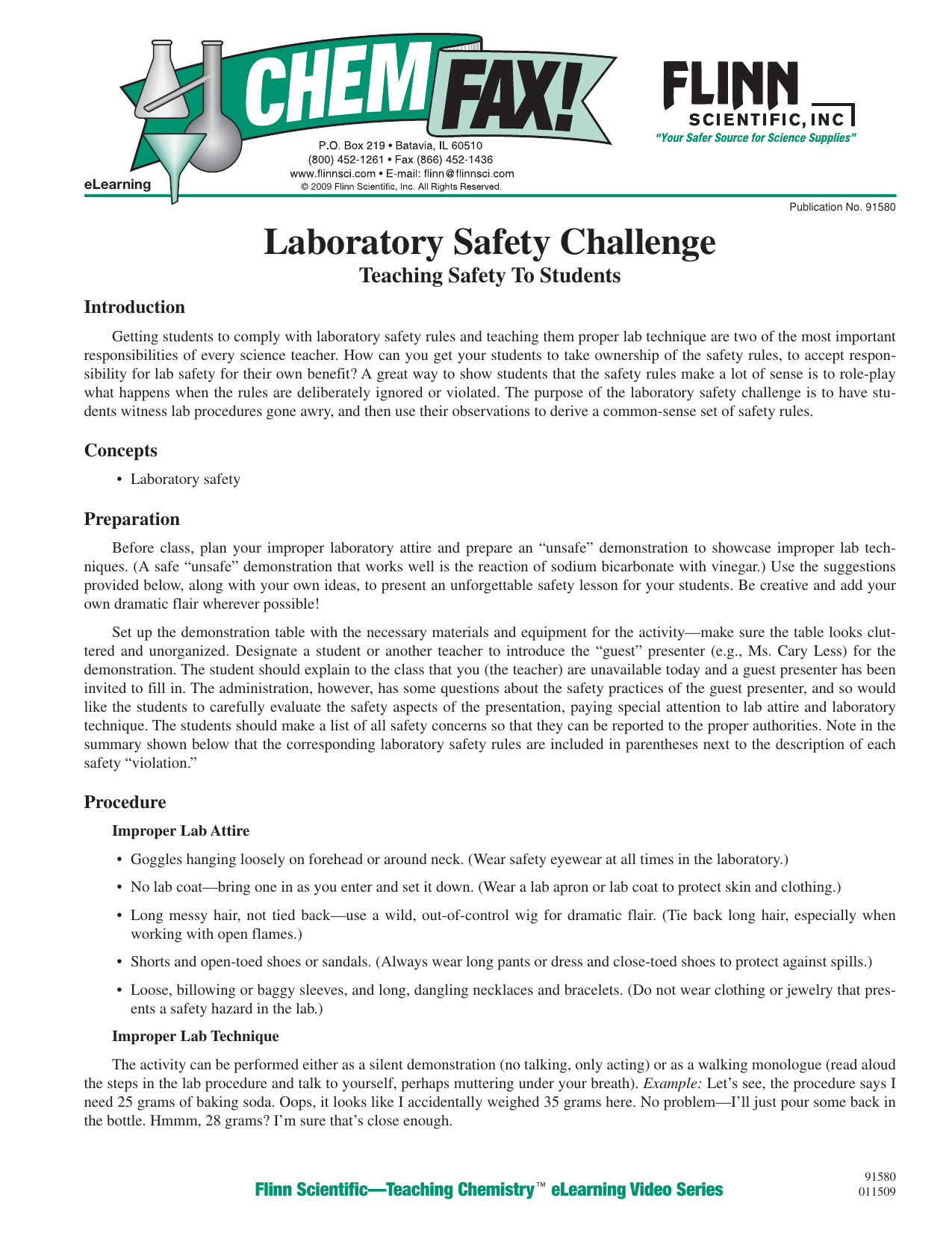 flinn scientific s student safety contract test answers