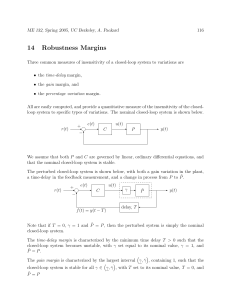 14 Robustness Margins