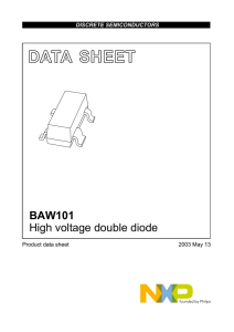 BAW101 High voltage double diode