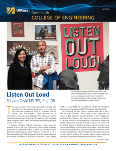 Listen Out Loud - UMass Dartmouth