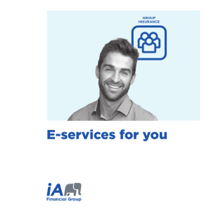 E-services for you - Industrial Alliance