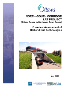 Overview Assessment of Rail and Bus Technologies