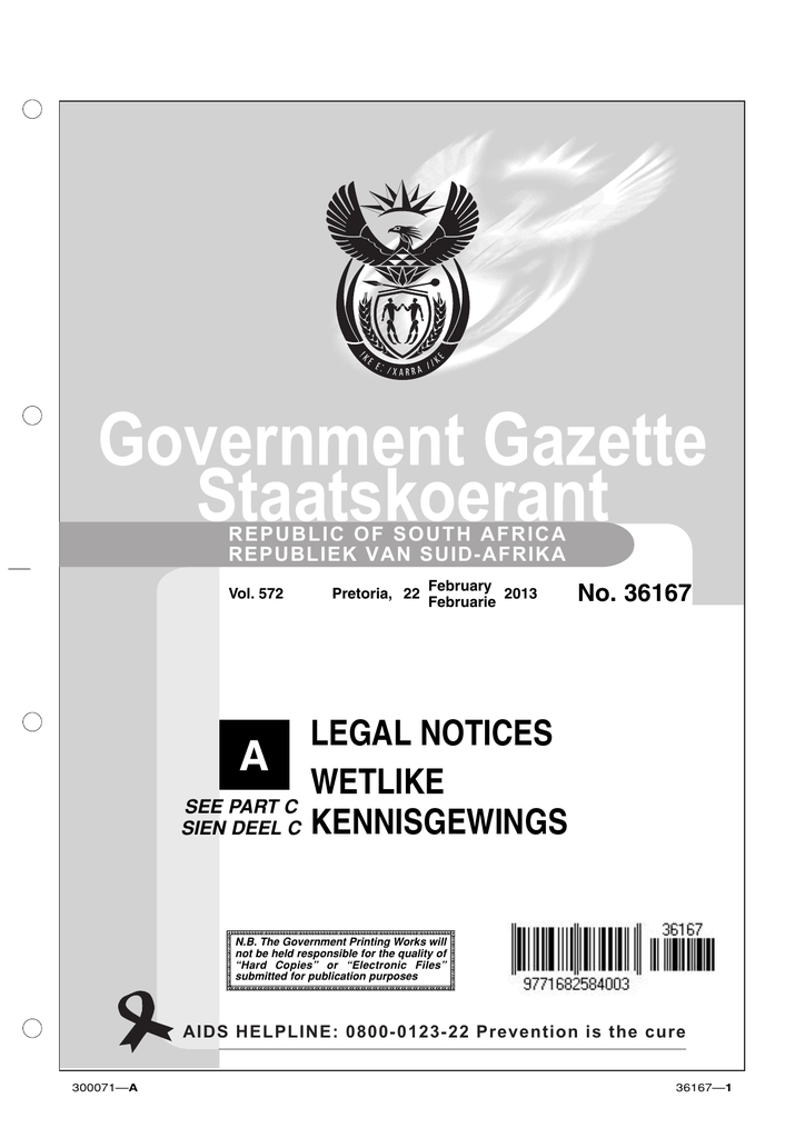2013 - Government Printing Works