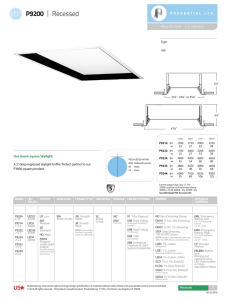 LED Spec - Prudential Lighting