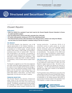 Structured and Securitized Products