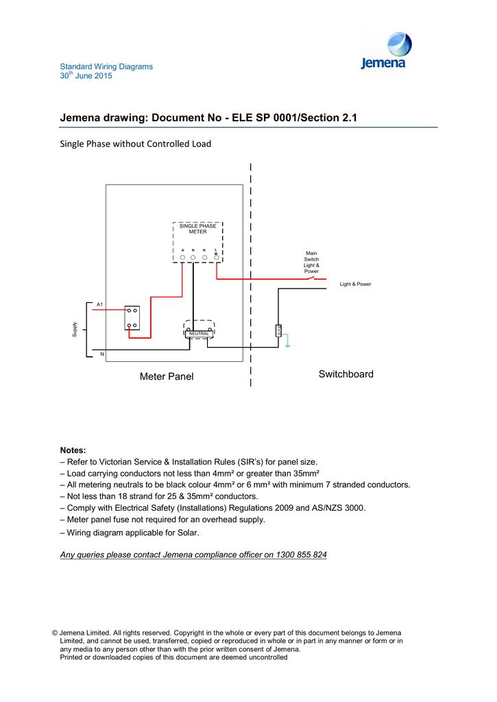 Standard Metering DiagramsStudylib