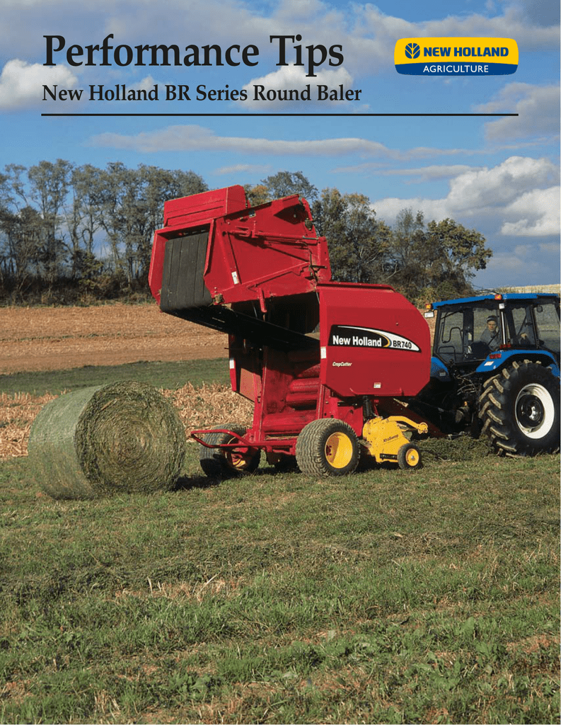 Round Baler Performance Tips