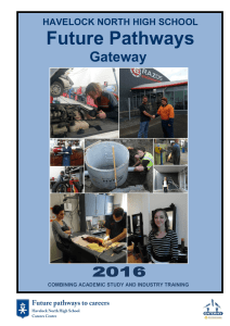 Future Pathways - Havelock North High School