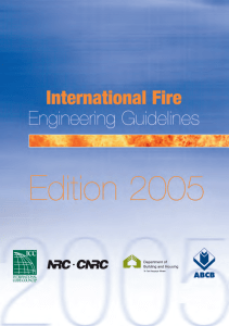 International Fire Engineering Guidelines Edition 2005
