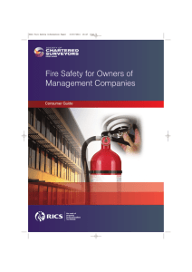 Fire Safety for Owners of Management Companies