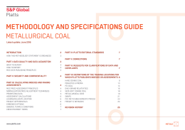 methodology and specifications guide