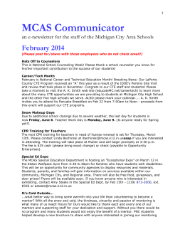 MCAS Communicator - Michigan City Area Schools
