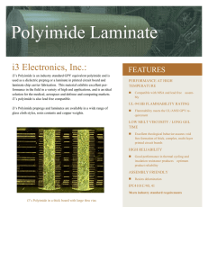 Polyimide Laminate