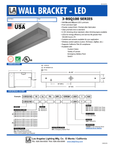 3-BSQ100 - Los Angeles Lighting Mfg. Co.