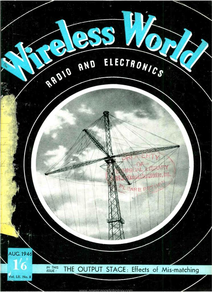 Aug - American Radio History Kalmus Transmitter Wiring Diagram on