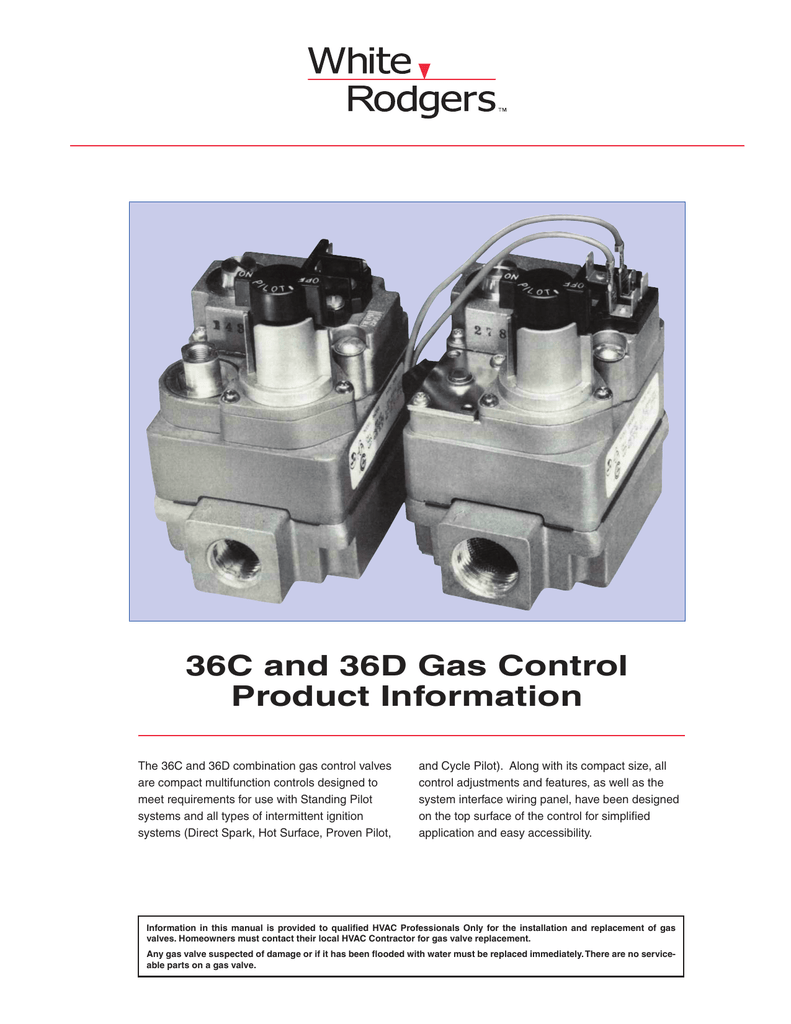 36c And 36d Gas Control Product Information Furnace Ignitor Replacement Schematics 018723826 1 77064d49b306485d12275597e0c9b0f0