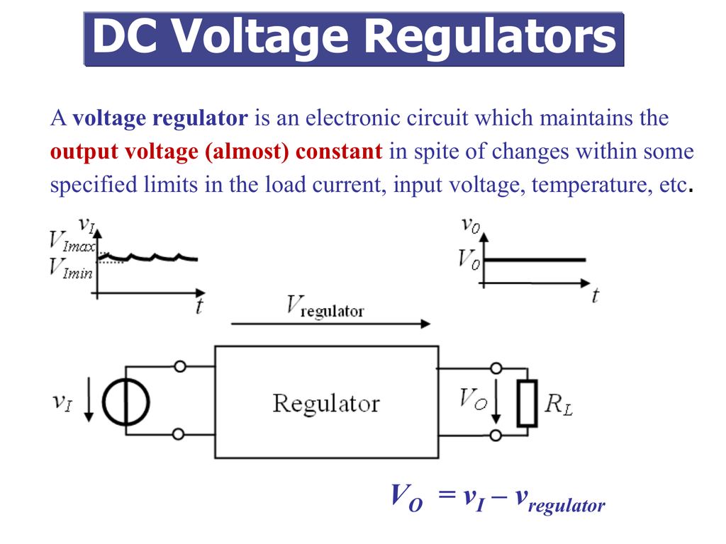 Dc Voltage Regulators Regulator Circuit Pictures For Their 018723996 1 16482496c141063b6f259667a27db43b