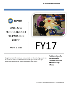 2016-2017 school budget preparation guide
