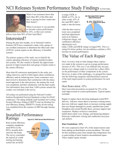 NCI Article on HVAC Systems Performance