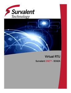 Virtual RTU - Survalent Technology