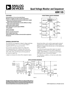 Analog Devices ADM1185ARMZ-1REEL7 datasheet: pdf