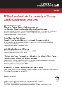 Wilberforce Institute for the study of Slavery and