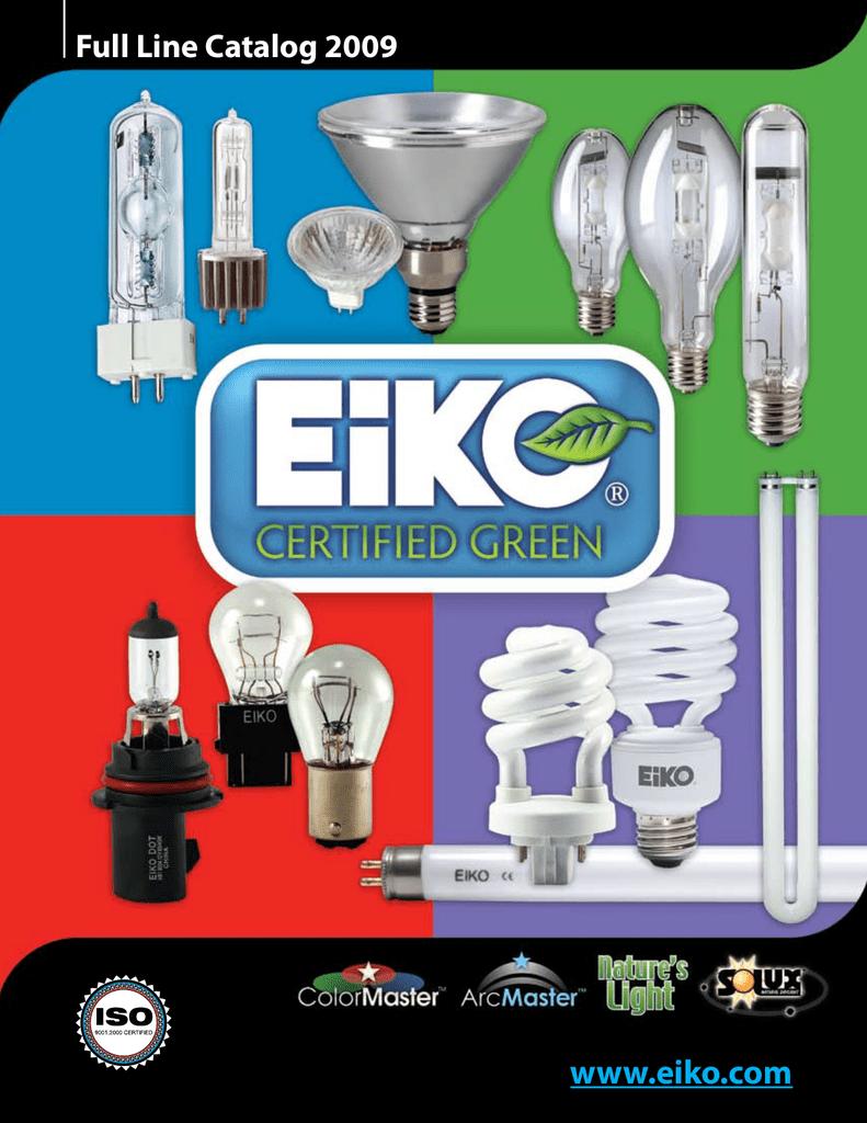 Eiko 1096X 6V 4.5A Silver Contacts S-8 DC Prefocus Base Halogen Bulbs