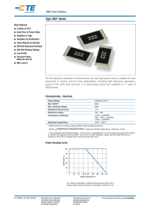 SMD Power Resistor - Allied Electronics
