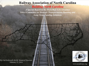 RANC_Presentation2016 - North Carolina General Assembly