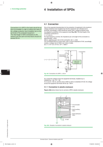 4 Installation of SPDs - Electrical Installation Guide