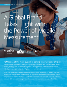 A Global Brand Takes Flight with the Power of