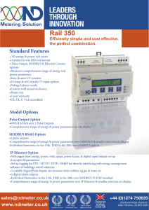Rail 350 - ND Metering Solutions