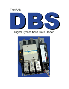 The RAM Digital Bypass Solid State Starter