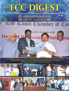 May-June 13 issue - Tamil Chamber of Commerce