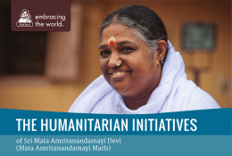 the humanitarian initiatives