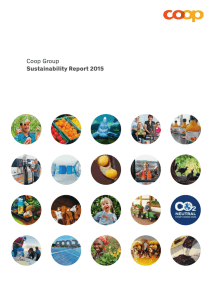 Coop Group Sustainability Report 2015