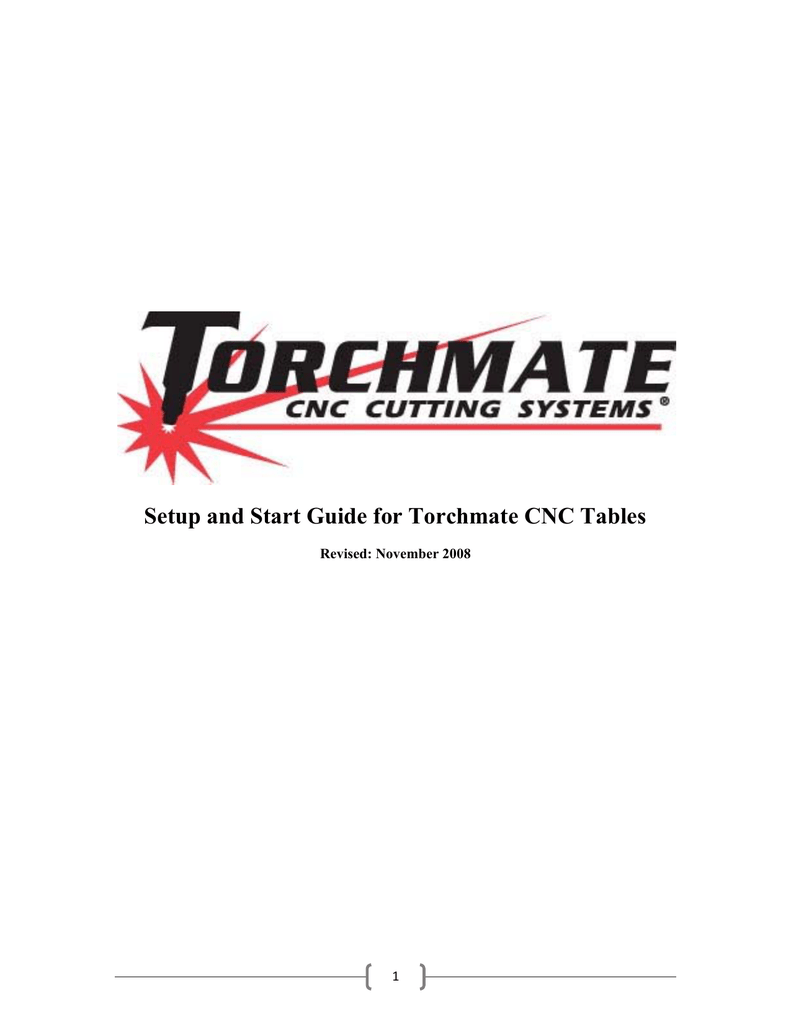 Torchmate Wiring Diagram Circuit Schematic Cnc Setup And Start Guide For Electric Motor