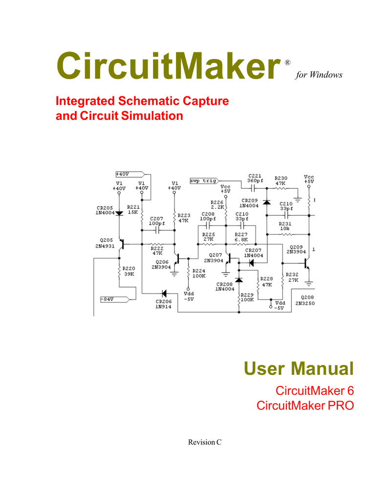 Circuitmaker User Manual Fet Optocoupler As A Linear Voltagecontrolled Potentiometer Figure 3
