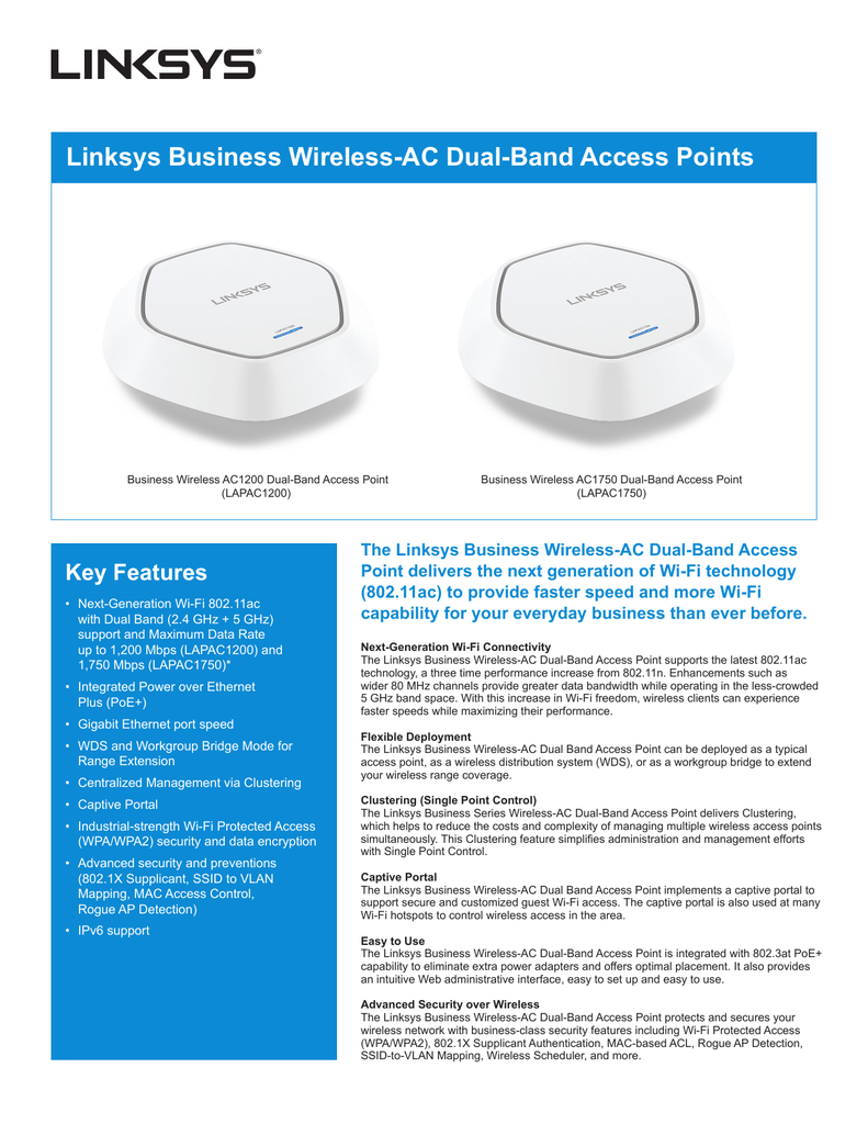 Linksys Business Wireless Ac Dual Typical Network Diagram