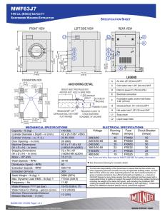 Electrical Schematic - Pellerin Milnor Corporation