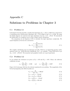 Solutions to Problems in Chapter 3