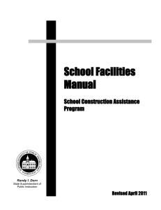 School Facilities Manual - Office of Superintendent of Public Instruction