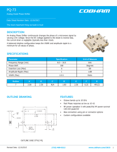 PQ-73 - Aeroflex Microelectronic Solutions