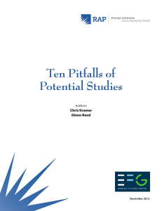 Ten Pitfalls of Potential Studies
