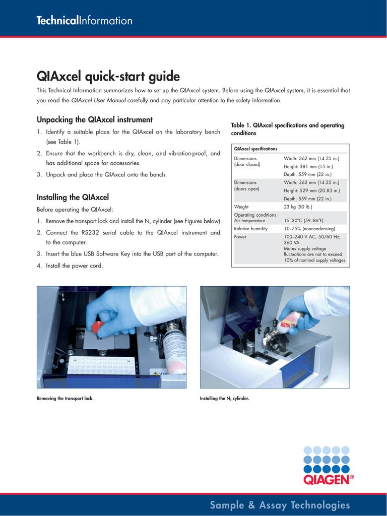 Pdf) analyzing microsatellites using the qiaxcel system.