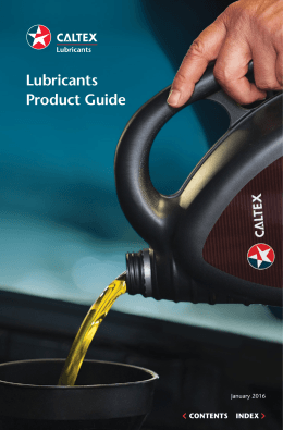 Lubricants Product Guide