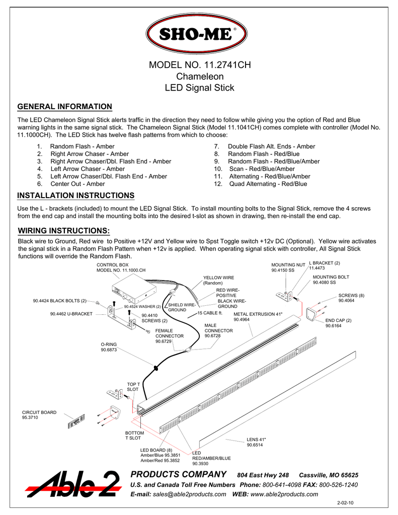 view pdf sho me lights and sirens LED Circuit Diagrams