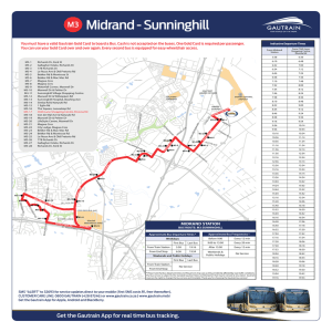 Bus Routes -Sunninghill