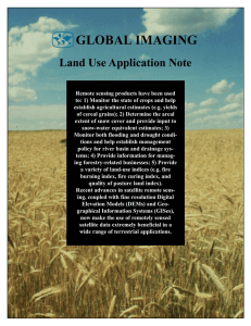 Land Use Application Note